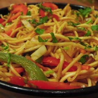 Hakka Noodles Recipe - Indo Chinese Cuisine.