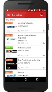 FilmOn Live TV FREE Chromecast Screenshot 3