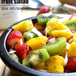 Boozy Tropical Fruit Salad