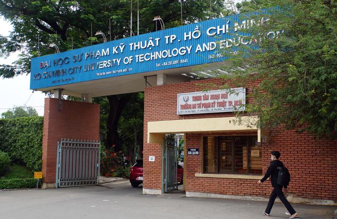 Đại học Sư phạm Kỹ thuật tại TP Thủ Đức, TP HCM. Ảnh:Mạnh Tùng.