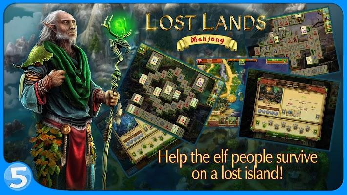 Image result for Lost Lands: Mahjong Premium APK