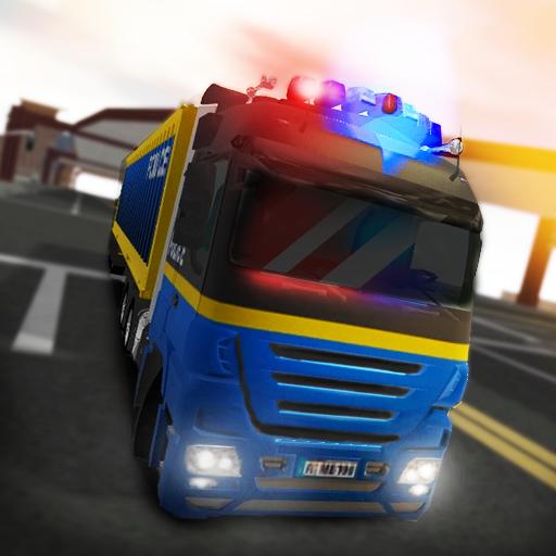 模拟の3D警察トラックシミュレータ2 LOGO-HotApp4Game
