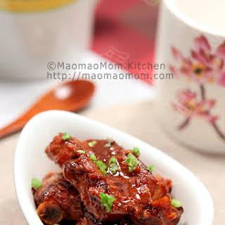 Braised Pork Ribs In Soy Sauce 红烧排骨.