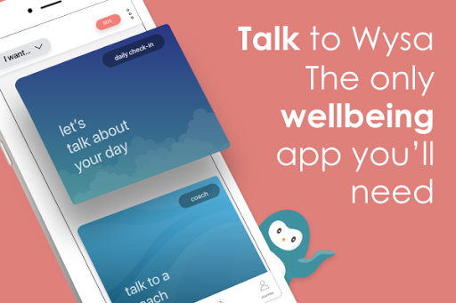 Wysa: stress, depression & anxiety therapy chatbot 0.9.5 screenshots 1