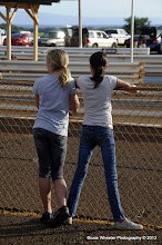 Photo: Jr. Dragsters groupies . . .