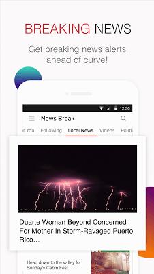 News Break: Local & Breaking - screenshot