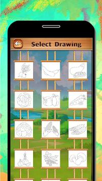 Vegetables Coloring Book Drawing Kids Game Screenshot 7