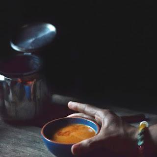 Burmese Sweet Tea.
