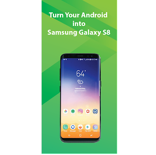 S8 Launcher for SS Galaxy S8, S7, Note 8 Icon pack - náhled