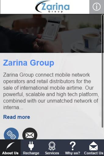 Zarina Mobile Top Up