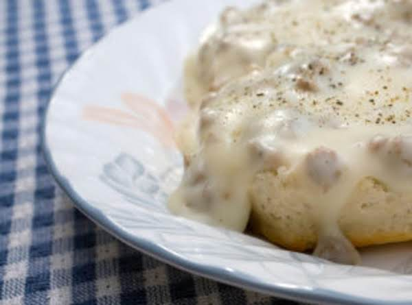 Homemade Pork Sausage Gravy Recipe