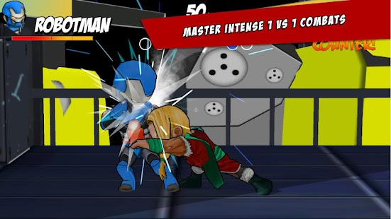 Superheros Free Fighting Games- screenshot