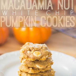 Macadamia Nut White Chip Pumpkin Cookies