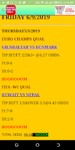10+ODDS FREE DAILY BETTING TIPS - náhled