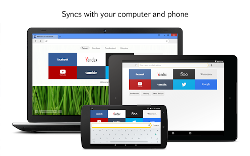 Yandex Browser for Android Screenshot 7