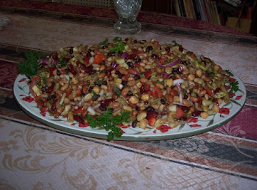 Grandmy's 9 Bean Salad Recipe