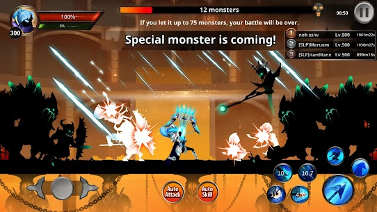 Stickman Legends Mod Apk 2.4.75 (Unlimited Money + Unlocked Skills) 4