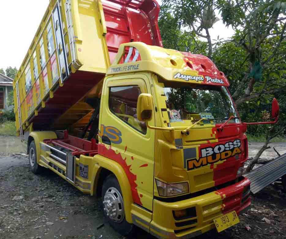 Gambar Modifikasi Truk Dump Truck Modifikasi Dump Truk 1 0 Apk Download Com Newmodifikasi