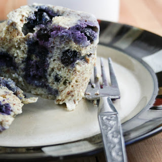 Blueberry Almond Flour Mug Muffin
