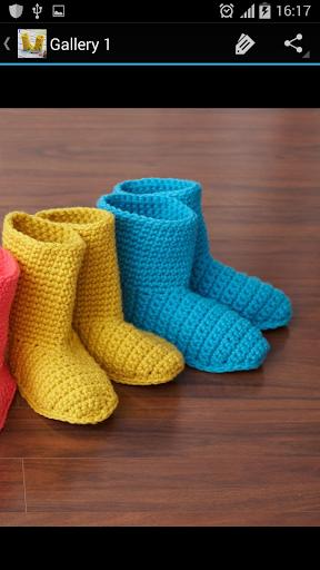 Crochet Pattern Kid Boots