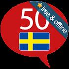 Schwedisch lernen -50 Sprachen icon