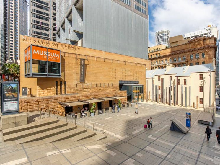 The Museum of Sydney. Perfect for an educational, yet fun family outing in Sydney