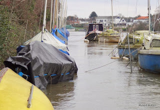 Photo: Moorings - dinghies and cruisers
