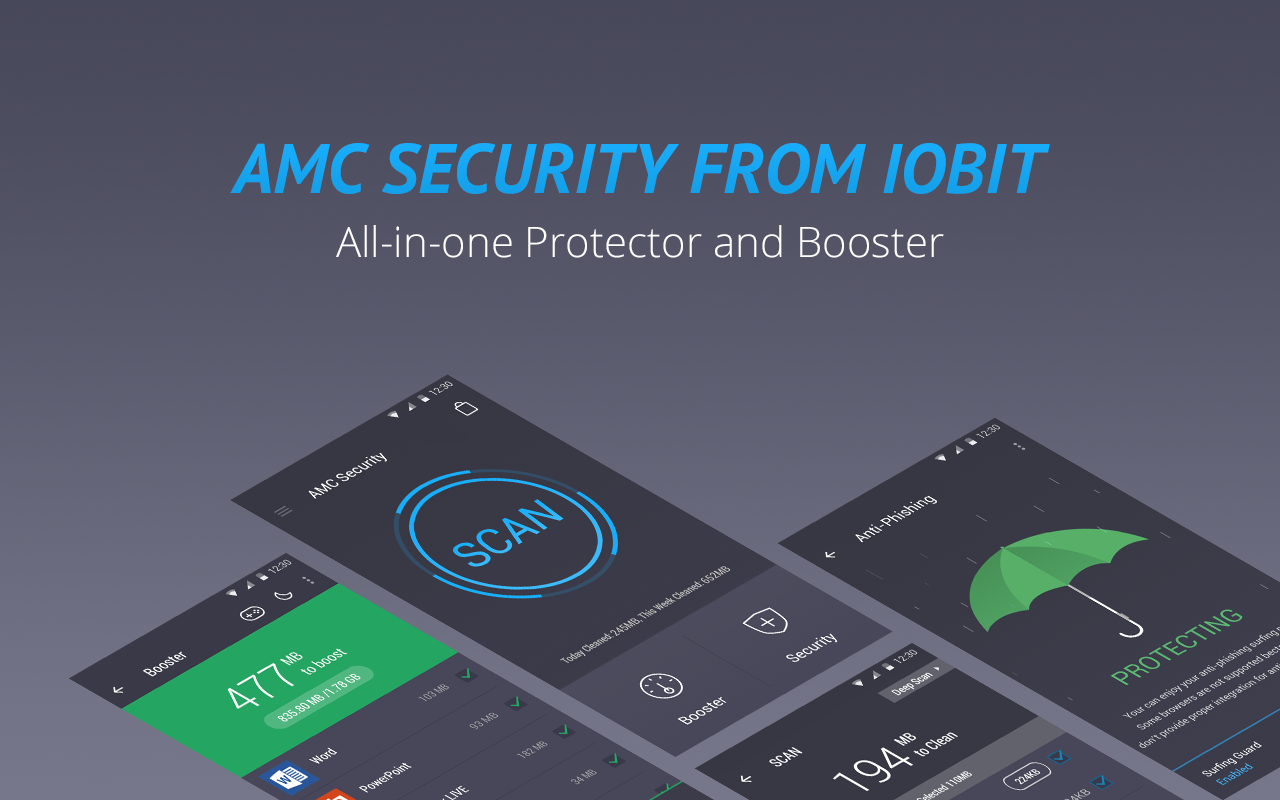 AMC Security - Clean & Boost- screenshot