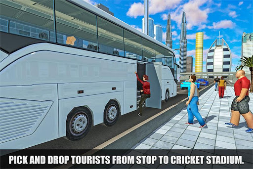 IPL Cricket Bus Driving Sim: Passenger Coach Taxi 1.0 screenshots 1