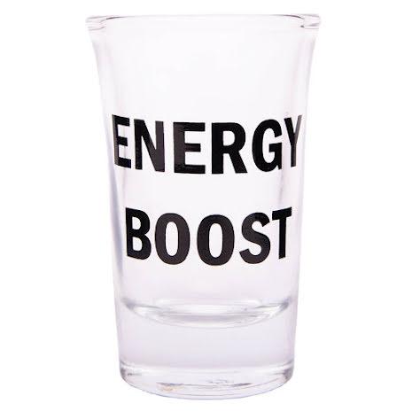 Snapsglas, Energy boost