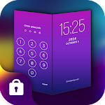 Screen Lock Theme Purple Icon