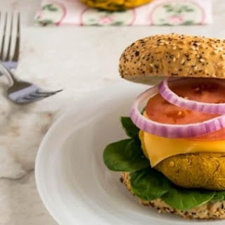 Pumpkin Almond Burger Patties