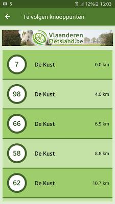 Vlaanderen Fietsland - screenshot