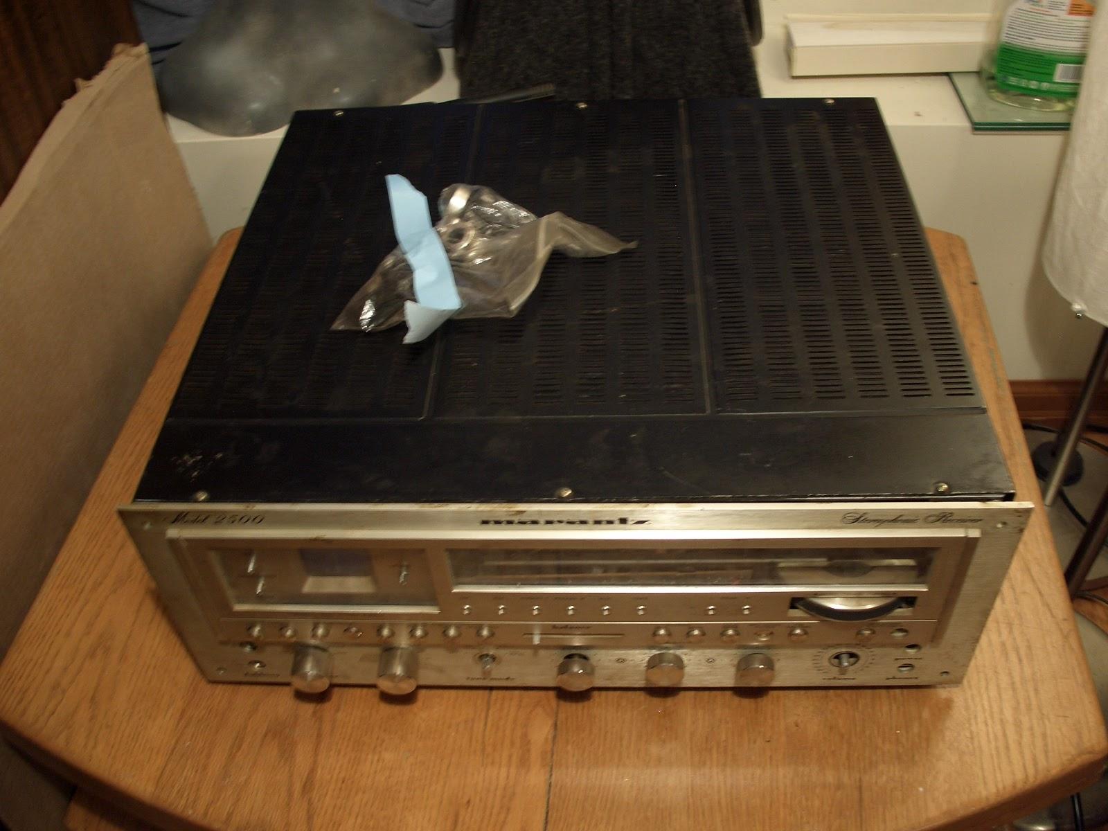 Marantz 2500 restore | Audiokarma Home Audio Stereo