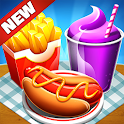 Cafe Fever - Food Restaurant & Cooking Games Girls icon