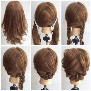 Braid Hairstyle Girls and Kids - náhled