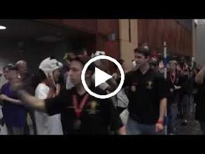 Video: post ceremony team walking down
