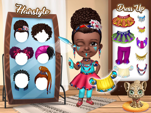 Pretty Little Princess - Dress Up, Hair & Makeup apkpoly screenshots 10