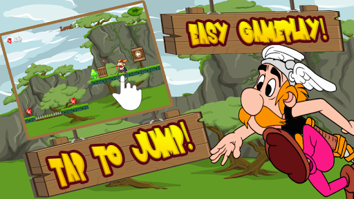 runner asterix adventure