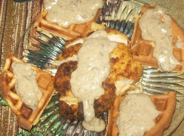 Roadhouse Waffles And Chicken Recipe { Second Part