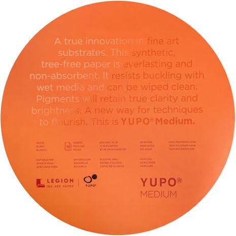 Yupo Paper Round 12x12 10/Pkg