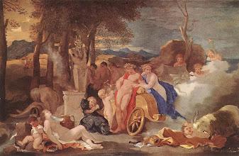 Photo: Bacchanal au terme de Pan (Avec Bacchus et Cérès - Budapest musée des Beaux-Arts