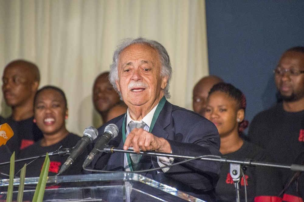 More employment would be a fitting tribute to George Bizos