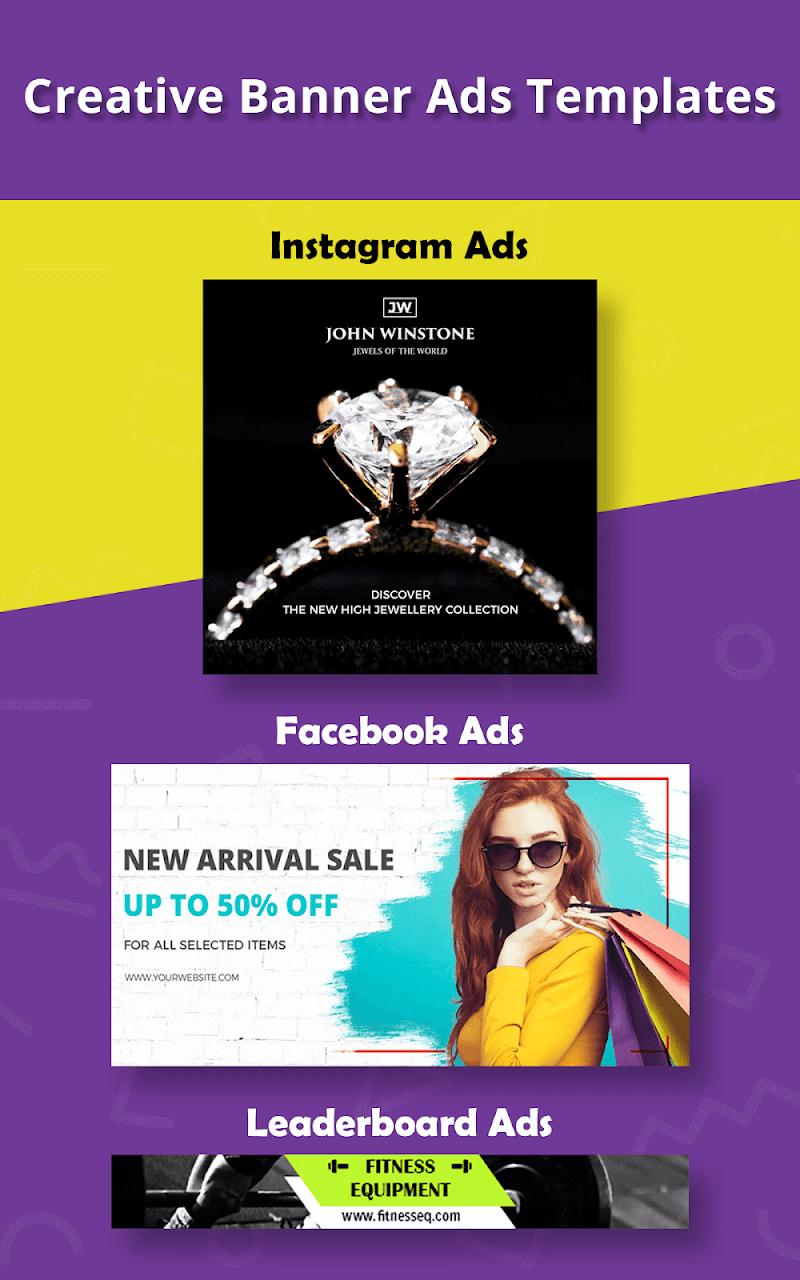 Banner Maker, Ad Maker, Web Banners, Graphic Art Screenshot 18