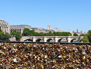 Photo: In the distance is Pont Neuf, the oldest bridge in Paris; originally the city center when it was built in 1607