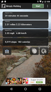 Simply Walking - GPS Map Steps- screenshot thumbnail