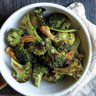 Roasted Broccoli with Garlic and Lemon