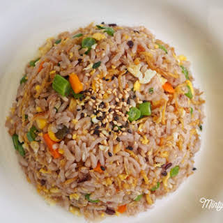 Ginger Fried Five-Grain Rice.