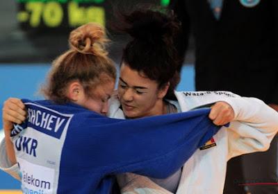 Gabriella Willems décroche une médaille au Grand Prix de La Haye