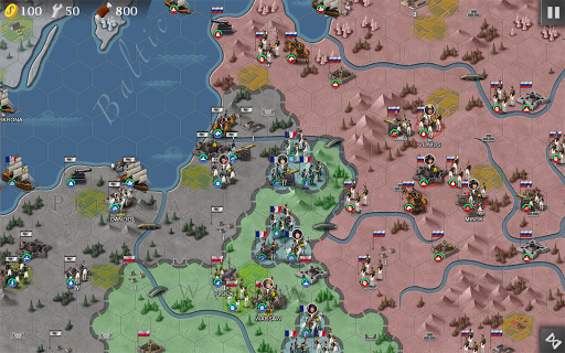 European War 4: Napoleon screenshot 16
